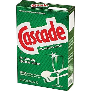 Cascade® Automatic Dishwasher Powder, 20 oz.