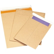 Staples® QuickStrip™ StayFlat® Kraft Mailers, 7 x 9, 100/Case
