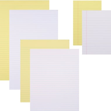 Staples® Glue-Top Ruled Notepads