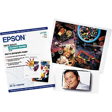 Epson® Photo-Quality Inkjet Paper, Glossy Finish