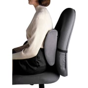 Fellowes Ergonomic Backrest Cushion, Black