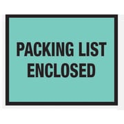 Staples® Packing List Envelopes, 7 x 5-1/2, Green Full Face Packing List Enclosed, 1000/Case
