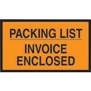 Staples® Packing List Envelopes, 7 x 10, Orange Full Face Packing List/Invoice Enclosed, 1000/Case