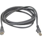 Staples 100' CAT5e Plus Snagless Patch Cable - Gray