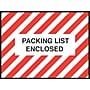 Staples® Packing List Envelopes, 4-1/2 x 6, Red