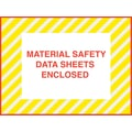 Staples Packing List Envelopes, 4-1/2in. x 6in., Yellow Striped Full Face in.M.S.D.S. Inclosedin., 1000/Case