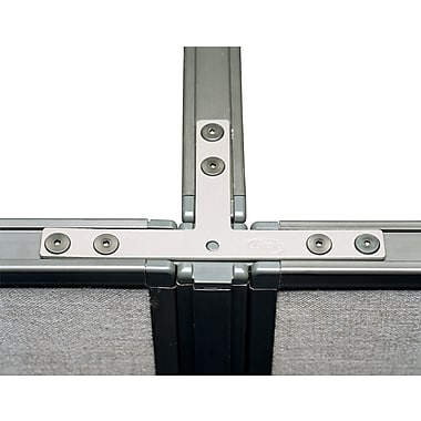 Bush ProPanel 2- or 3-Way Connector for 66in. Panels, Light Gray