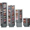 Durham Con-Tur® Rotary Literature Racks, 92 Pocket, Gray