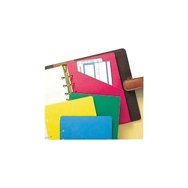Day-Timer Colorlife® Slash Pockets, Desk Size