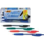 BIC® Atlantis Ballpoint Pens, Retractable
