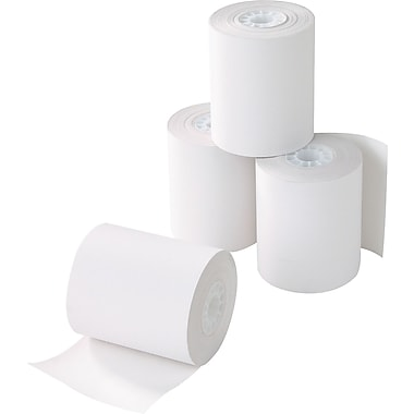 Staples Thermal Paper Rolls, 4 9/32in. x 115', 10/Pack