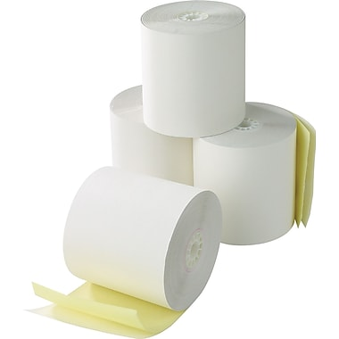 Staples 2 1/4in. x 70' 2-Part Rolls for VeriFone 420/460
