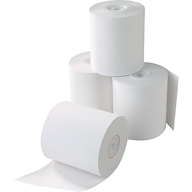 Staples® POS Rolls, 3 1/8in. x 220', 1 Ply, 50/Pk