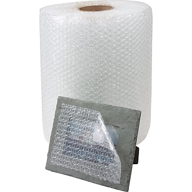 Staples® Adhesive Bubble Rolls, 12in. x 300', 4/Case