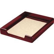 Wood Tones™ Mahogany-Finish Front-Load Letter Tray