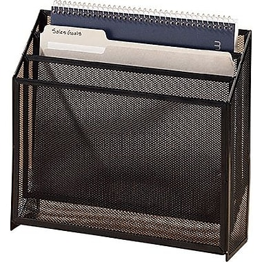 Staples® Black Mesh 3-Tier Organizer
