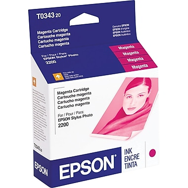 Epson T0343 Magenta Ink Cartridge (T034320)