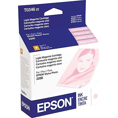Epson T0346 Light Magenta Ink Cartridge (T034620)