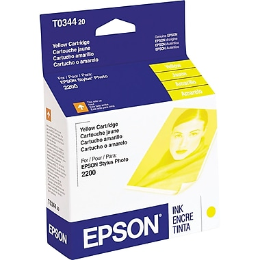 Epson T0344 Yellow Ink Cartridge (T034420)