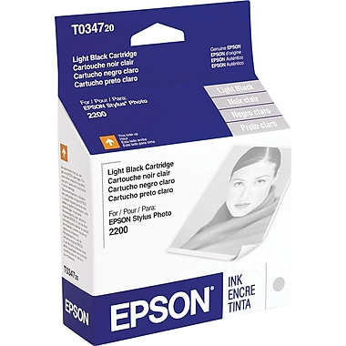 Epson 34 Light Black Ink Cartridge (T034720)