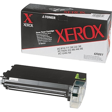 Xerox Black Toner Cartridge (6R881)