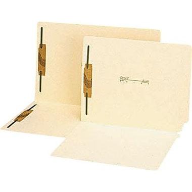 Pendaflex Manila Laminated End-Tab Fastener Folders, Letter, 2 Fasteners, 50/Box