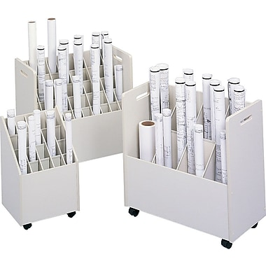 Safco Mobile Roll Files, Corrugated Roll Files