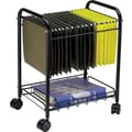 Safco Mobile Desk Side File, Wire Frame