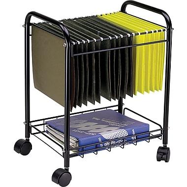 Safco Desk Side Rolling Mobile File Cart | Staples®