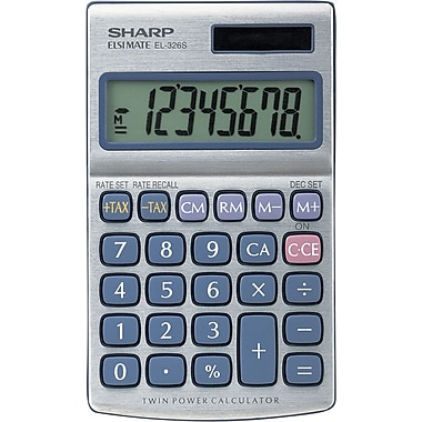 Sharp EL-326SB 8-Digit Display Calculator