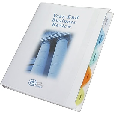 Wilson Jones® All-In-One View-Tab® Round Ring Presentation Books