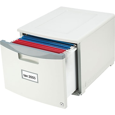 Storex Locking File Drawer