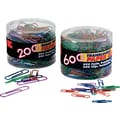 OIC® Translucent Paper Clips