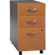 Bush Westfield 3-Drawer File, Natural Cherry/Graphite Gray