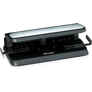 Swingline® Easy-Touch Heavy-Duty 2- to 7-Hole Punch, 32 Sheet Capacity