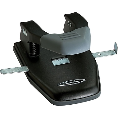 Swingline® Deluxe 2-Hole Punch, 28 Sheet Capacity