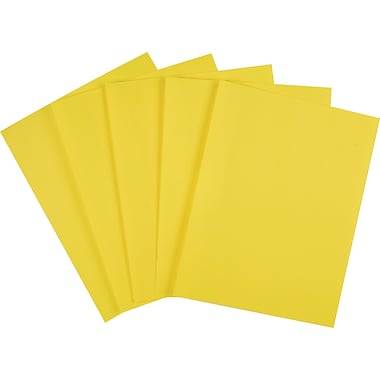 ASTROBRIGHTS® Cardstock, 8 1/2in. x 11in., 65 lb., Solar Yellow, 250/Pack
