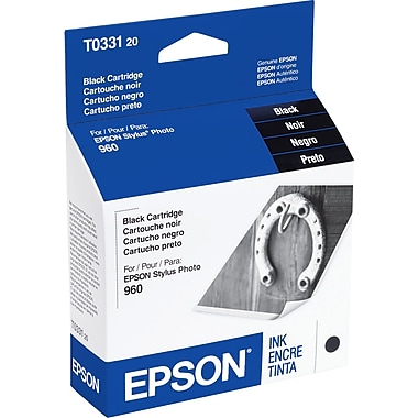 Epson T0331 Black Ink Cartridge (T033120)