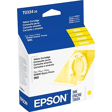 Epson T0334 Yellow Ink Cartridge (T033420)