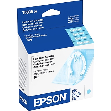 Epson T0335 Light Cyan Ink Cartridge (T033520)