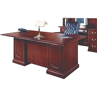 DMI Andover 72in. Executive Desk, Mahogany