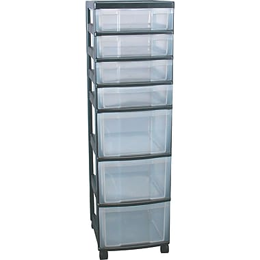 Staples® 7-Drawer Tower