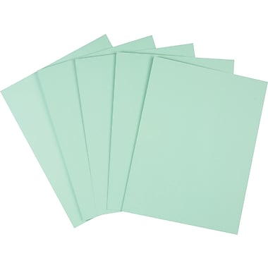 Staples® Pastel Colored Copy Paper, 8 1/2in. x 11in., Green, Ream