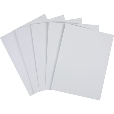Staples Cover Stock Paper, 8 1/2in. x 11in., Gray