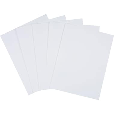 Wausau Exact® Semi Smooth Cover Stock Paper, 8 1/2in. x 11in., White