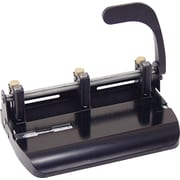 OIC® Lever-Handle Heavy-Duty 2- to 3-Hole Punch, 32 Sheet Capacity