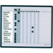 "Quartet® In/Out Personnel Board, 24"" x 18"""