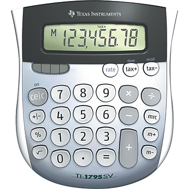 Texas Instruments® TI-1795SV 8-Digit Display Calculator