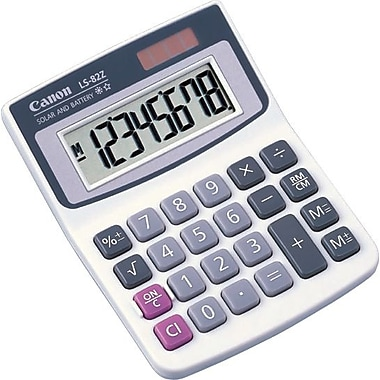 Canon LS-82Z 8-Digit Display Calculator