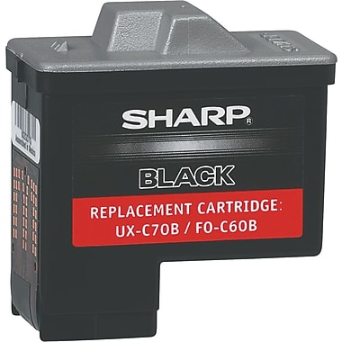 Sharp Black Ink Cartridge (UX-C70B)